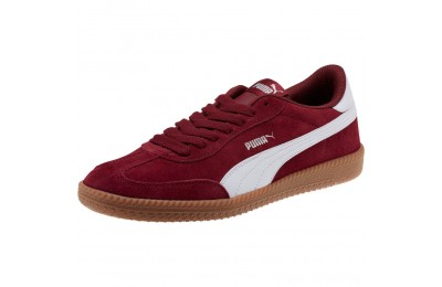 Puma Astro Cup Suede Sneakers Pomegranate- White Sales