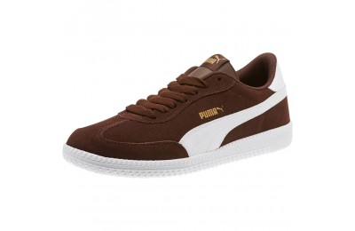 Puma Astro Cup Suede Sneakers Chestnut- White Sales