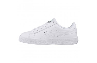 Puma Basket Classic JR Sneakers White- White Sales
