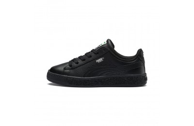 Puma Basket Classic Kids' Sneakers Black- Black Sales