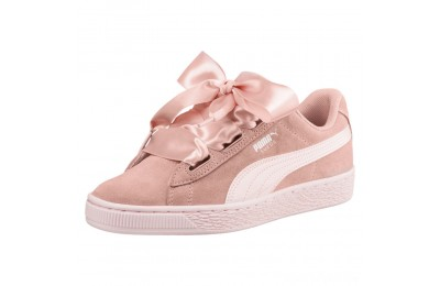 Puma Suede Heart Jewel JR Sneakers Peach Beige-Pearl Sales