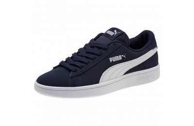 Puma Smash v2 Suede JR Sneakers Peacoat- White Sales