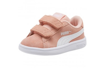 Puma PUMA Smash v2 Suede Sneakers INFPeach Bud- White Sales