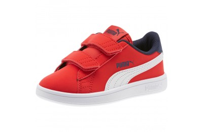 Puma PUMA Smash v2 Buck AC Sneakers PSHigh Risk Red-White-Peacoat Sales