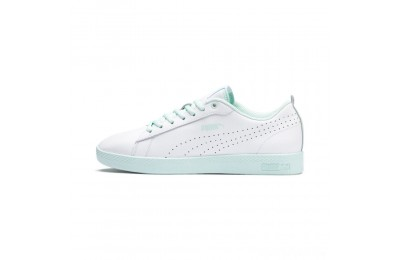 Puma Smash V2 L Perf Women's Sneakers White-Fair Aqua Sales