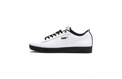Puma Smash V2 L Perf Women's Sneakers White- Black Sales