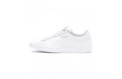 Puma PUMA Smash v2 Leather Sneakers PS White- White Sales