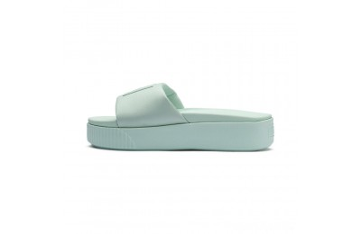Puma Platform Slide Women's Sandals Fair Aqua-Fair Aqua Sales