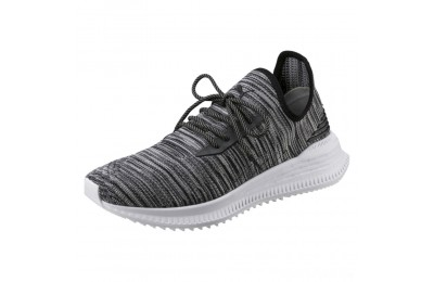 Puma AVID evoKNIT Summer Running Shoes P Black-QUIET SHADE-P White Sales