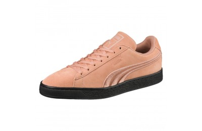 Puma Suede Classic Badge Flip Sneakers Muted Clay- Black Sales