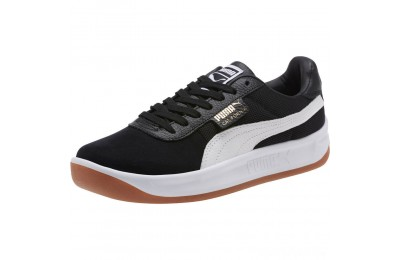 Puma California Casual Sneakers Black- White Sales