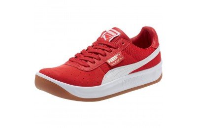 Puma California Casual Sneakers Ribbon Red- White Sales