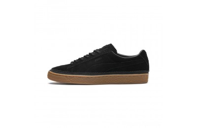Puma Suede Classic Brogue Men's Sneakers Black- Black Sales
