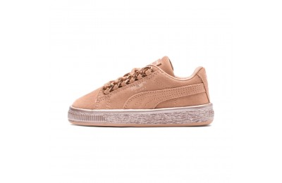 Puma Suede Classic X-Chain Preschool Sneakers Dusty Coral-Rose Gold Sales