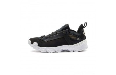 Puma Trailfox Running Shoes Black- White Sales