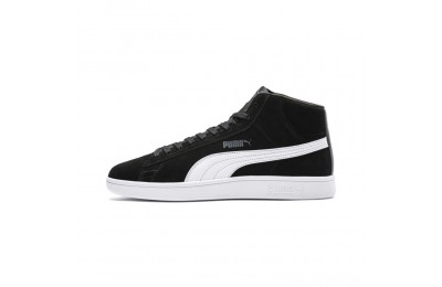 Puma PUMA Smash v2 Suede Mid Sneakers Black- White Sales