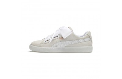 Puma Suede Heart Arctica Women's Sneakers White- White Sales