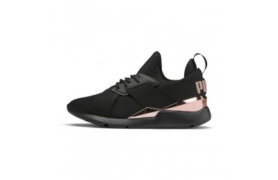 Puma Muse Metal Women's Sneakers Black-Rose Gold Sales
