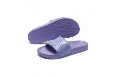 Puma Women's Leadcat Patent Slide Sandals Sweet Lavender Sales