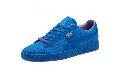 Puma Suede Classic Archive AOP Sneakers Royal- Team Gold Sales