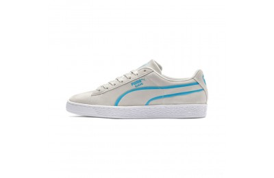 Puma Suede Classic X-Hollows Sneakers Gray-Hawaiian Ocean- White Sales