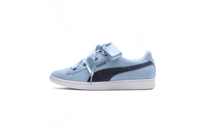 Puma Puma Vikky Ribbon JR Sneakers CERULEAN-Peacoat Sales
