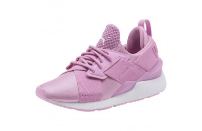 Puma Muse JR Sneakers Orchid-Orchid Sales