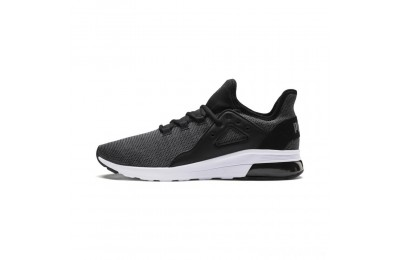 Puma Electron Street Knit Sneakers Black-Iron Gate Sales