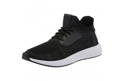 Puma Uprise Knit Men's Sneakers Black-Iron Gate-White Sales