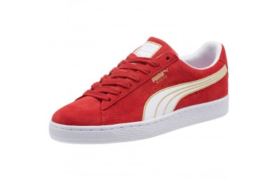 Puma Suede Varsity Women's Sneakers Ribbon Red- White Sales