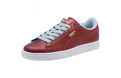 Puma Basket Nu School Women's Sneakers Pomegranate-Peacoat Sales