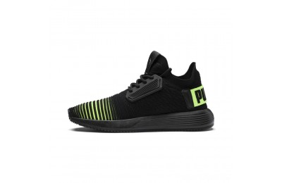 Puma Uprise Color Shift JR Sneakers Black-Limepunch Sales