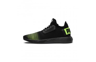 Puma Uprise Color Shift Men's Sneakers Black-Limepunch Sales