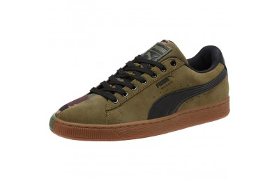 Puma Suede SP Sneakers Burnt Olive- Black Sales