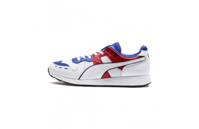 Puma RS-100 Sound Men's Sneakers Dazzlin Blu-HghRiskRed-White Sales