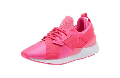 Puma Muse Satin EP Pearl Women's Sneakers KNOCKOUT PINK Sales