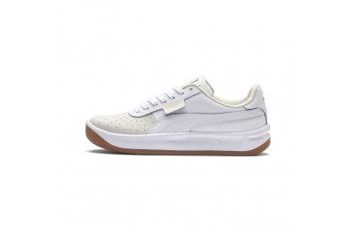 Puma California Exotic Women's Sneakers Whisper White- White- Gold Sales