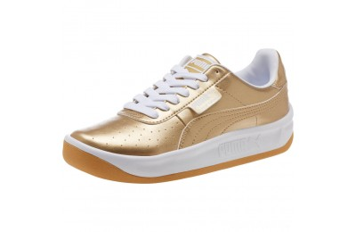 Puma California Metallic Sneakers JR Team Gold- White Sales
