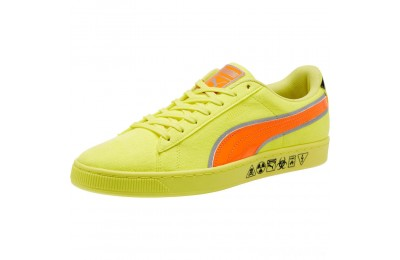 Puma Puma Hazard Yellow Suede Sneakers Lemon Tonic-Shocking Orange Sales