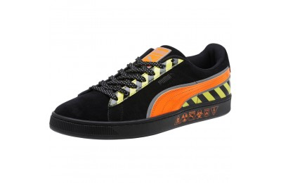 Puma Suede Hazard Sneakers Black-Shocking Orange Sales