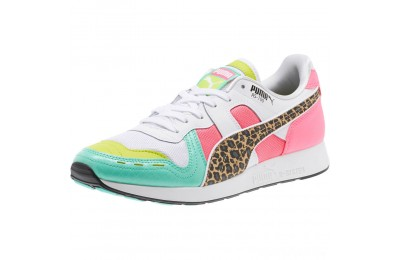 Puma RS-100 Party Croc Sneakers White- Green-KNOCKOUT PINK Sales
