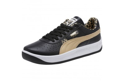 Puma GV Special Wild Sneakers Black-Pebble- Team Gold Sales