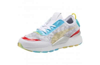 Puma RS-0 Optic Filter Men's Sneakers Wht-AQS-Vbrnt Ylw-HRR Sales