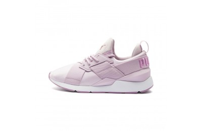 Puma Muse Satin II Women's Sneakers Winsome Orchid-Smoky Grape Sales