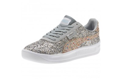 Puma California Glitz Women's Sneakers Silver-CERULEAN-Quarry Sales