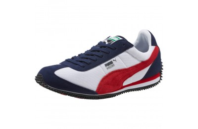Puma Speeder Mesh Unisex Sneakers P White-Ribbon Red-Peacoat Sales