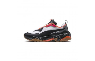 Puma Thunder Electric JRWhite-Black-Mandarine Red Sales