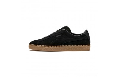 Puma Suede Classic Blanket Stitch Sneakers Black-Gum Sales