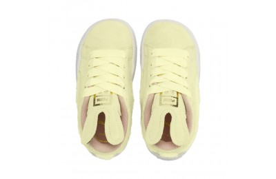 Puma Suede Easter AC Sneakers PSYELLOW-Coral Cloud-Gold Sales