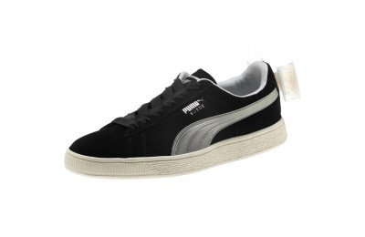 Puma Suede Jelly Bow Sneakers JR Black-Glac Gray-Silver Sales